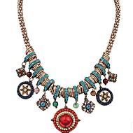 Χαμηλού Κόστους -Γυναικεία Κρεμαστά Κολιέ Προσομειωμένο διαμάντι Χρυσό 42.6 cm Κολιέ Κοσμήματα 1pc Για Καθημερινά