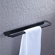 رخيصةأون -قضيب المنشفة / خطاف الروب / رف الحمام تصميم جديد / كوول / متعددة الوظائف معاصر / أنتيك الفولاذ المقاوم للصدأ 1PC - حمام فردي / 1-منشفة بار / خاتم منشفة مثبت على الحائط