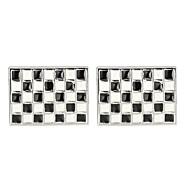 저렴한 -직사각형 블랙 커프링크스 구리 한국어 / 패션 남여 공용 의상 보석 제품 작동 / 사무실 및 경력
