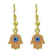 저렴한 -여성용 기하학적 인 드랍 귀걸이 귀걸이 세련 유니크 디자인 보석류 핑크 제품 일상 1 쌍