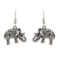 preiswerte -Damen Tropfen-Ohrringe Ohrringe Schmuck Silber Für Festival 1 Paar