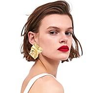 저렴한 -여성용 링 귀걸이 귀걸이 귀걸이 스테이트먼트 유행의 패션 보석류 골드 / 실버 제품 거리 홀리데이 클럽 바 제전 1 쌍