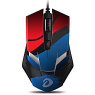 abordables -DAREU EM902 USB filaire Optique Gaming Mouse Multi-couleurs rétro-éclairé 4000 dpi 4 niveaux de DPI réglables 6 pcs Clés