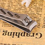 זול -1pc פלדת על חלד ציפורן אמנות Kit עבור האצבע נייל מאט / עמידות לשחיקה / עמיד סדרה רומנטית עיצוב ציפורניים פדיקור מניקור מסוגנן יומי