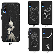 Case For Samsung Galaxy A6 (2018) / A6+ (2018) / Galaxy A7(2018) Pattern Back Cover sky Soft TPU