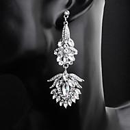 levne -Dámské Visací náušnice Náušnice Šperky Stříbrná Pro Svatební Denní 1 Pair