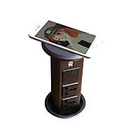 preiswerte -knospe uk / au / uk / eu / kr uns-04a kabelloses ladegerät bluetooth lautsprecher kücheninsel büro desktop pop-up steckdose