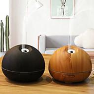 tanie -1 pc 7 kolor led light night wood grain nawilżacz kreatywny domu oczyszczania powietrza nawilżacz noc lekki olejek aromaterapia maszyna ultradźwiękowy oczyszczacz powietrza