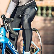 billige -SANTIC leggvarmere Myk Bekvem Sykkel / Sykling Svart Rød Grå til Herre Voksne Utendørs Trening Sykkel Ensfarget / Mikroelastisk