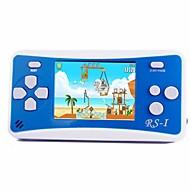 rs-1 handheld game player para crianças sistema de jogo portátil video game player 2.5 lcd embutido 152 jogos clássicos