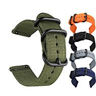 billige -Klokkerem til Huami Amazfit A1602 / Huami Amazfit Pace Watch / Huami Amazfit Stratos Smart Watch 2/2S Xiaomi Sportsrem Stoff / Nylon Håndleddsrem