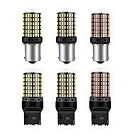 billige -1pc ba15s 1156 p21w bil canbus ledet bilsignal lys 4w 12-24v 450lm styrehjørne energibesparende lampe pære rød gul hvid