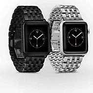 Watch Band varten Apple Watch Series 4/3/2/1 Apple Butterfly Buckle Metalli Rannehihna