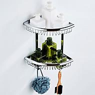 economico -Mensola del bagno Multistrato / Nuovo design Modern Ottone 1pc - Bagno / Bagno dell'hotel Matrimoniale Montaggio su parete