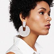 billige -Dame geometrisk Dråbeøreringe Øreringe Klassisk Europæisk Mode Moderne Smykker Guld / Sølv / Rose Guld Til Daglig Gade Arbejde Bar 1 Par