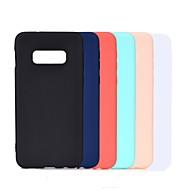 billige -Etui Til Samsung Galaxy S9 Plus / S8 Plus Syrematteret Bagcover Ensfarvet Blødt TPU for S9 / S9 Plus / S8 Plus