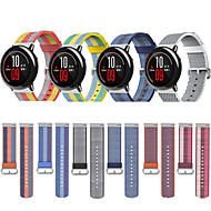 billige -Klokkerem til Huami Amazfit A1602 / Huami Amazfit Pace Watch Xiaomi Sportsrem Stoff / Nylon Håndleddsrem