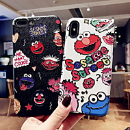cheap -Case For Apple iPhone XS Max / iPhone 6 Pattern Back Cover Cartoon Hard PVC for iPhone XR / iPhone XS Max / iPhone X