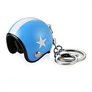 olcso -3d autó motorkerékpár motorkerékpár ütközés sisak kulcs fob lánc gyűrű kulcstartó