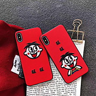 cheap -Case For Apple iPhone XS Max / iPhone 6 Pattern Back Cover Cartoon Hard PVC for iPhone XS / iPhone XR / iPhone XS Max