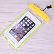 cheap -Case For Universal Universal Water Resistant Back Cover Solid Colored Soft PVC for Universal