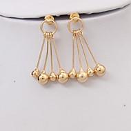 voordelige -Dames Druppel oorbellen Oorbel oorbellen Bal Stijlvol Eenvoudig Europees Sieraden Goud Voor Dagelijks Straat Feestdagen Werk Bar 1 paar