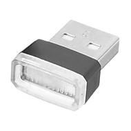 olcso -1db univerzális mini usb vezeték nélküli autós belső világítás légkör könnyű láblámpa