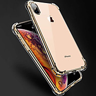 cheap -Case For Apple iPhone X / iPhone XS Max Shockproof Back Cover Solid Colored Soft TPU for iPhone XS / iPhone XR / iPhone XS Max
