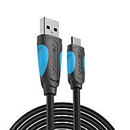 お買い得  -幻想usb cケーブルusbタイプcケーブル2a usb 3.1急速充電usb-cデータケーブルtype-cケーブルサムスンhuawei zuk lg xiaomi 0.5 m