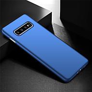 abordables -ultra delgado anti huella digital y caja de teléfono minimalista para pc dura para samsung galaxy s10 / galaxy s10 plus / galaxy s10 e / galaxy s10 5g