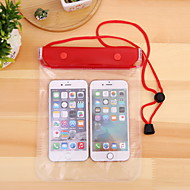 cheap -Case For Universal iPhone XS Max / iPhone 6 Water Resistant Waterproof Pouch Solid Colored Soft PVC for Universal
