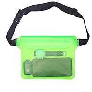 cheap -Case For Universal Universal Water Resistant Waterproof Pouch Solid Colored Soft PVC for Universal