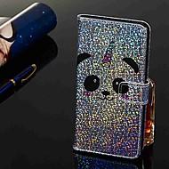 זול -מגן עבור Samsung Galaxy Galaxy M20(2019) / Galaxy M30(2019) ארנק / מחזיק כרטיסים / עם מעמד כיסוי מלא פנדה קשיח עור PU ל Galaxy M10 (2019) / Galaxy M20(2019) / Galaxy M30(2019)