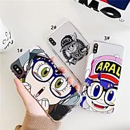 economico -custodia per apple iphone xr / iphone xs max pattern / cover posteriore trasparente cartoon soft tpu per 6 6 plus 6s 6splus 7 8 7plus 8plus x xs