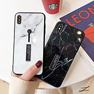 economico -Custodia Per Apple iPhone XS Max / iPhone 6 Con supporto / Fantasia / disegno Per retro Effetto marmo Resistente Vetro temperato per iPhone XS / iPhone XR / iPhone XS Max