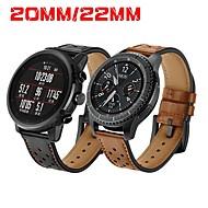 povoljno -Pogledajte Band za Gear S3 Frontier / Gear S3 Classic / Gear S2 Classic Samsung Galaxy / Huawei / Motorola Klasična kopča Prava koža Traka za ruku