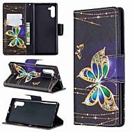 povoljno -Θήκη Za Samsung Galaxy Note 9 / Note 8 / Galaxy Note 10 Novčanik / Utor za kartice / Otporno na trešnju Korice Rukav leptir PU koža