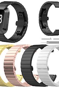 levne -Watch kapela pro Fitbit Versa Fitbit Butterfly Buckle Nerez Poutko na zápěstí