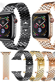 cheap -Watch Band for Apple Watch Series 4/3/2/1 Apple Modern Buckle Metal Wrist Strap