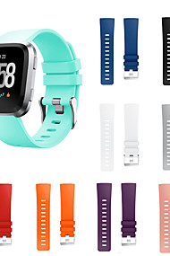 tanie -Watch Band na Fitbit Versa Fitbit Nowoczesna klamra Silikon Opaska na nadgarstek