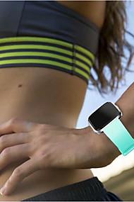 levne -Watch kapela pro Fitbit Versa Fitbit Klasická spona Silikon Poutko na zápěstí