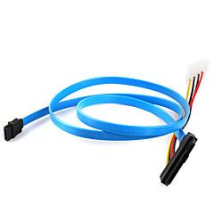 preiswerte Kabel & Adapter-Festplatte SAS-Kabel 29p bis 1 * SATA Kabel 70cm 7p