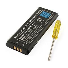 3.7V 2000mAh Li-Ion Akku für Nintendo NDSi ll und NDSi XL mit Schraubendreher
