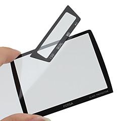 Fotga Premium-LCD Screen Panel Beschützer Glas für Nikon D3/D3x