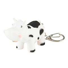 Недорогие Женские украшения-Cow Брелок LED, Мода, С подсветкой Назначение Подарок