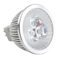 preiswerte LED-Birnen-6500lm GU5.3(MR16) LED Spot Lampen MR16 3 LED-Perlen Hochleistungs - LED Abblendbar Natürliches Weiß 12V / #