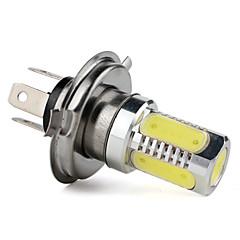 お買い得  自動車用LED電球-フォグランプ用 H4 7.5W 400LM ホワイトライト LED電球(12V)