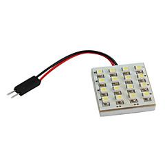 お買い得  自動車用LED電球-3528 SMD 16 LED 1.68ワット48lmの白色光車の電球(DC 12V)