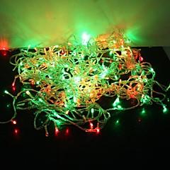 preiswerte LED Lichtstreifen-30m Leuchtgirlanden 300 LEDs LED Diode Rot / Blau / Gelb Farbwechsel 220 V