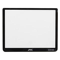 JYC pro in vetro ottico di protezione dello schermo lcd per Nikon D3100